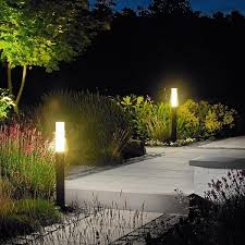 14-Highlight Your Greens With Garden Lighting